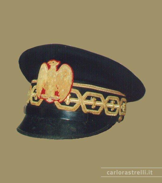 Berretto nero mod. 1940 da Console Generale