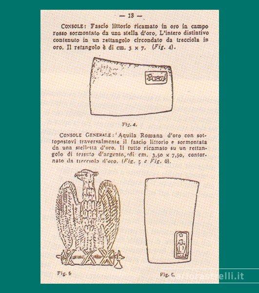 regolamento sull'uniforme 1923