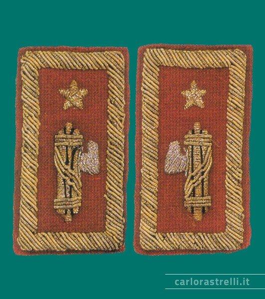 Distintivi di grado 1923