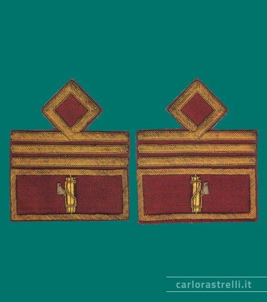 Distintivi di grado mod. 1935 da Console