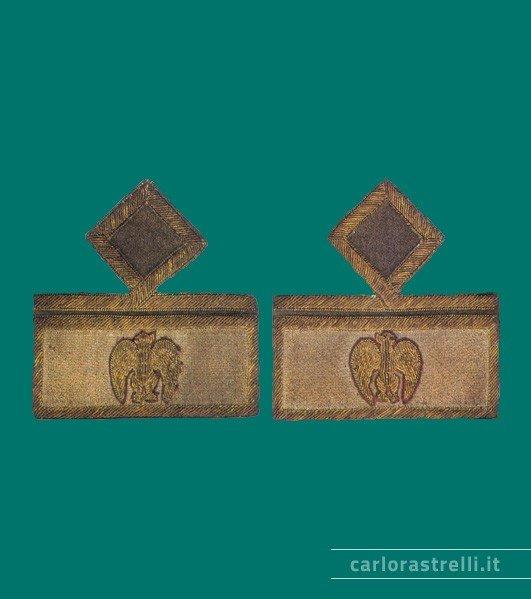 Distintivi di grado mod. 1935 da Console Generale