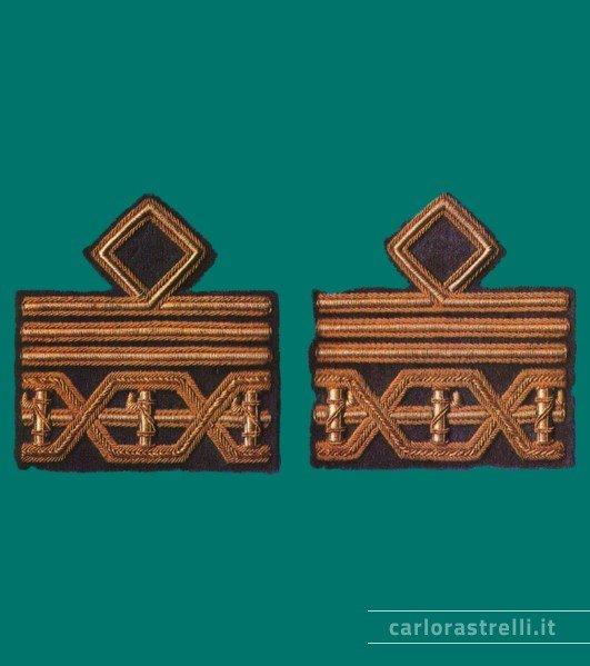 Distintivi di grado mod. 1940 da Comandante Generale