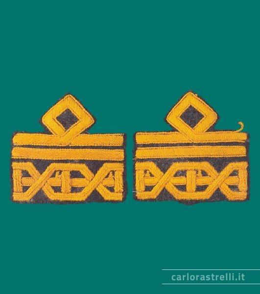 Distintivi di grado da Luogotenente Generale