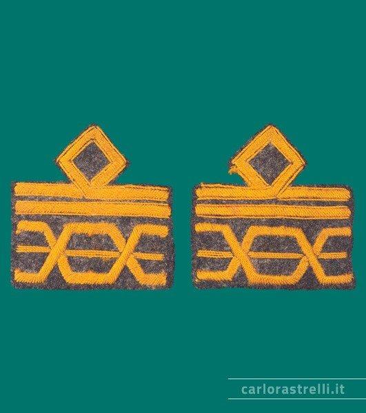 Distintivi di grado, non ufficiali, da Luogotenente Generale